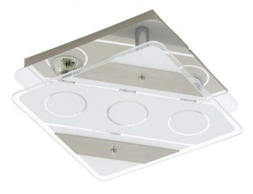 LED Deckenleuchte  3xGU10//5W matt-nickel Briloner