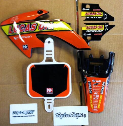Honda crf 50 plastics and graphics 04-13 New Lucus Oil Troy Lee Desgns