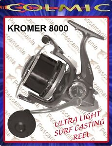 Mulinello-Colmic-KROMER-8000-beach-ledgering-surf-casting