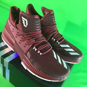 Details about Adidas Dame 3 Maroon Men s Size 14 Basketball Shoes NEW in  Box BY3195 dc15a4da5361