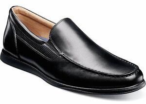 Mens-Florsheim-Atlantic-Venetian-Loafer-Black-Leather-13316-001