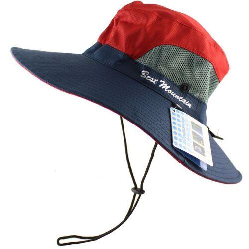 Waterproof Sun Hat Bucket Men Women Fishing Boonie Hat Sun UV Protection UPF 50