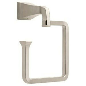 Dryden 128891 Bath Towel Ring Brilliance Stainless Finish
