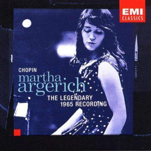 1 of 1 -  Martha Argerich Plays Chopin CD: The Legendary 1965 Recording