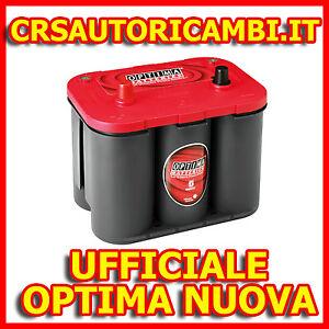 BATTERIA-AVVIAMENTO-FIAT-FREEMONT-RTC4-2-OPTIMA-ROSSA-RED-2-0-JTD-DIESEL-BENZINA