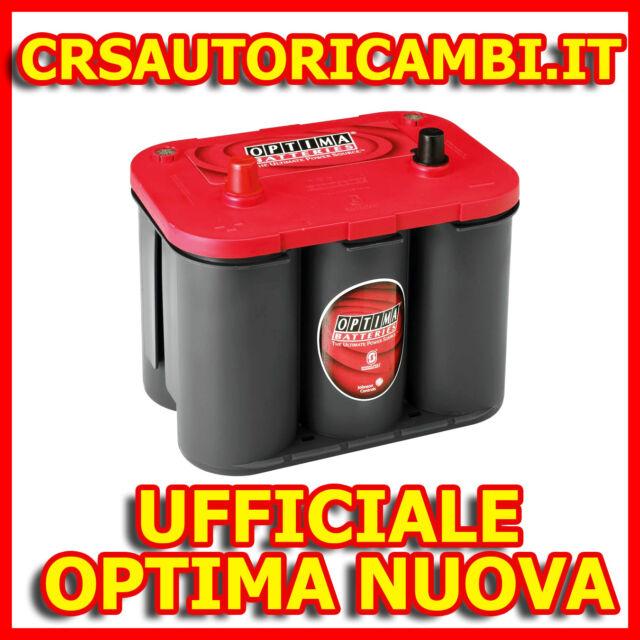 BATTERIA OPTIMA REDTOP RED TOP ROSSA RTC 4.2 RTC4.2 RTC42 RTC 42 - NUOVA ITALIA