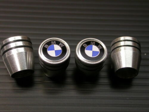 Metal VALVE STEM CAPS SET B M Werke ALPINA E90 91 92 B3 335i Bi-Turbo E46 330i S