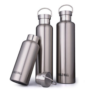 Details about Full 18/8 Stainless Steel Thermos Flask Vacuum Insulated  Water Bottle Travel Mug
