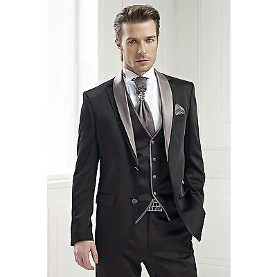New Arrival Men's Tuxedos Wedding Suits Bridegroom Bridal Suits Formal Blazers