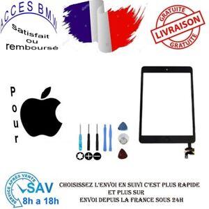Vitre-Ecran-Tactile-iPad-MINI-2-Noir-Assemblee-Bouton-HOME-IC