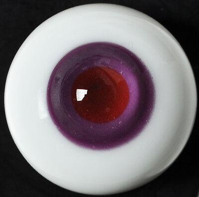 Wholesale 6 Pair of Black Pupil 18MM Glass BJD Eyes For Reborn//newborn Doll