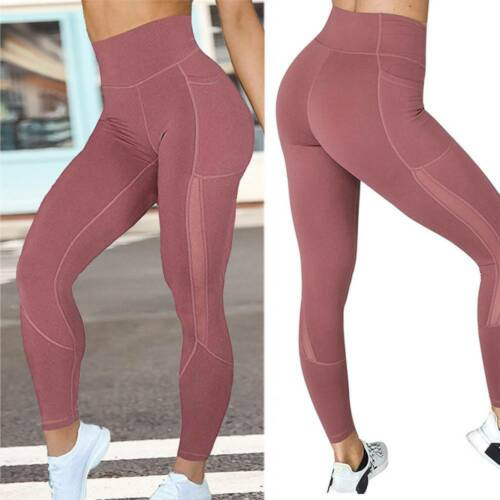 Women Fitness Yoga Leggings Ladies Gym Running Sports High Waist Jogging Pants