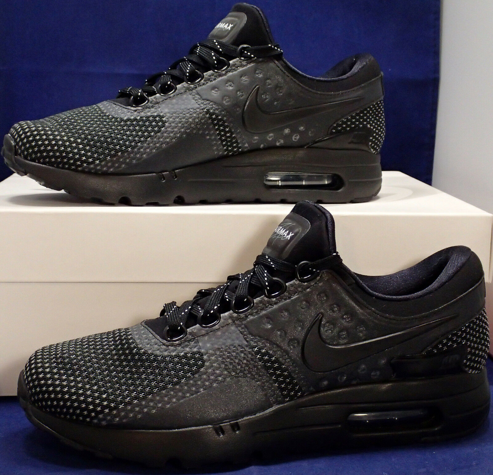 Nike Air Max Zero iD Black SZ US 7.5 /// Womens SZ 9 ( 853860-901 )