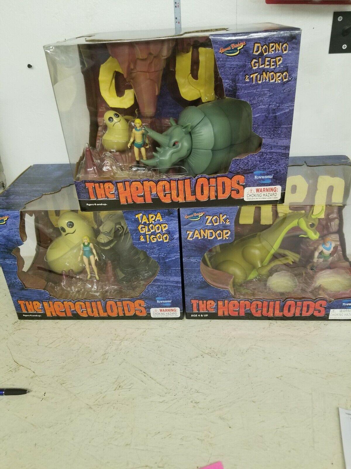 Hanna Barbera Herculoids Figure Set   24 HOUR SUPER SALE   BRAND NEW