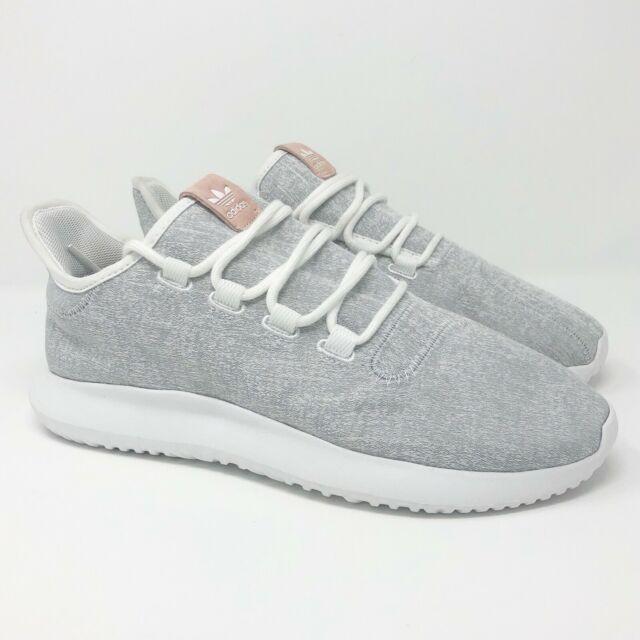 sale retailer fdded a2364 Adidas Originals Womens Tubular Shadow Running Shoe Gray/White BY9735 Size  10