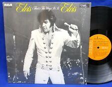 LP ELVIS PRESLEY - THAT'S THE WAY IT IS / GERMAN ORANGE RCA VICTOR *** MINT- ***