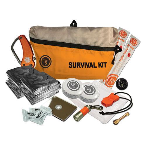 Ultimate  Survival Technologies FeatherLite Survival Kit orange 3.0  gorgeous