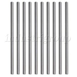 Silver-Lathe-Bar-Round-Rod-High-Speed-Steel-HSS-4mm-Dia-100mm-Length-Pack-of-10