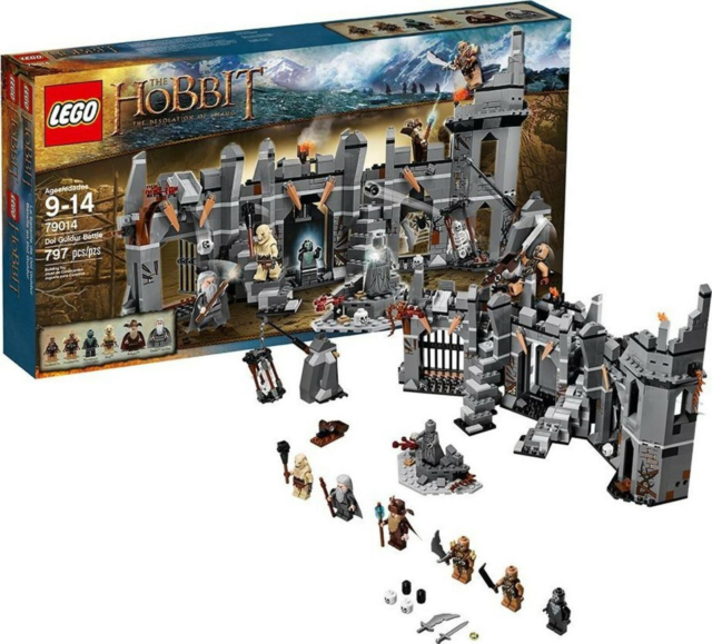 Lego Hobitten, 79014 The Goblin King Battle  100% komplet…