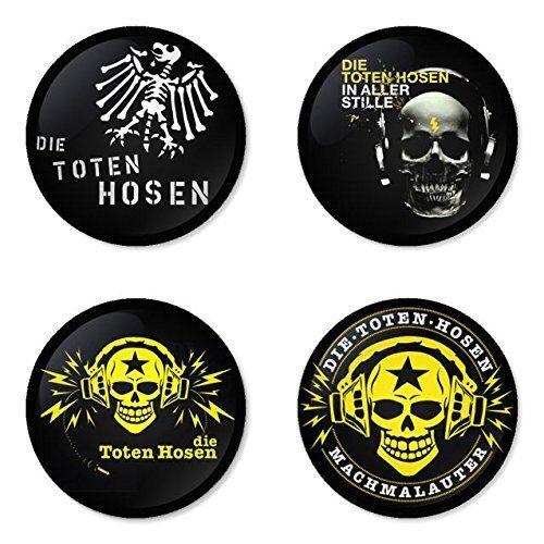 F 4 Blech pin button Die Toten Hosen Abzeichen