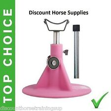 PINK Horse HOOFJACK farrier stand, Equine Innovations Hoof Jack includes DVD