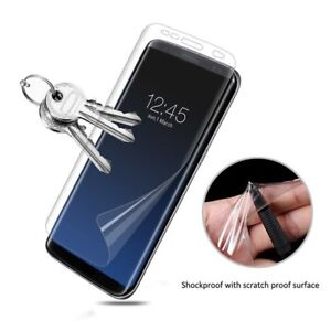For-Samsung-Galaxy-S9-100-Genuine-TPU-Screen-Protector-Cover
