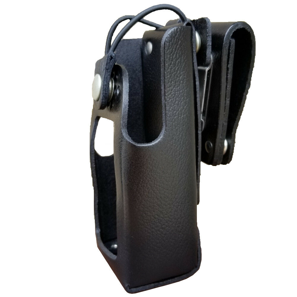 Case Guys IM8045-3BW Leather Holster for Icom IC-3251DT and IC-4261DT Radios