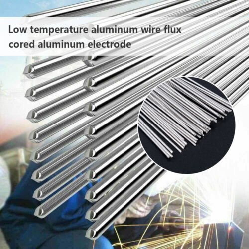 Low Temperature Welding Aluminum Solder Wire Brazing Repair Rods Tool 1//5//10Pcs