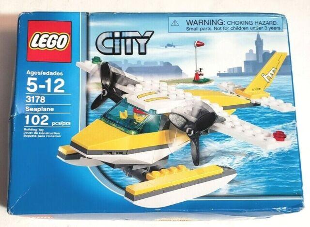 Lego City Seaplane 3178 Brand New Factory Sealed
