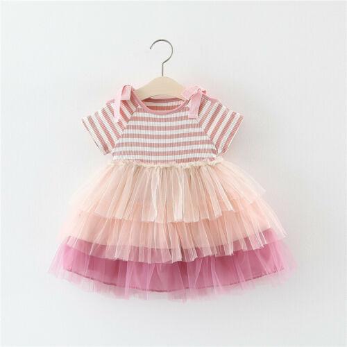 Newborn Baby Girl Dress for Girl 1 Year Birthday Party tutu Dress Kids Clothes