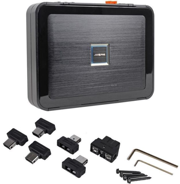 Alpine PDX-V9 900W 5-Channel Car Amplifier