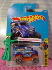 MONSTER DAIRY DELIVERY #161✰Blue/Orange/Green✰ART ✰2017 i Hot Wheels case G/H