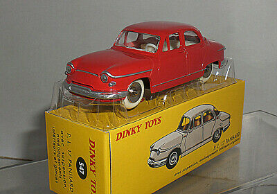 1//43 DeAgostini Dinky toys 547 PL 17 Panhard Red Diecast Models Limited Edition