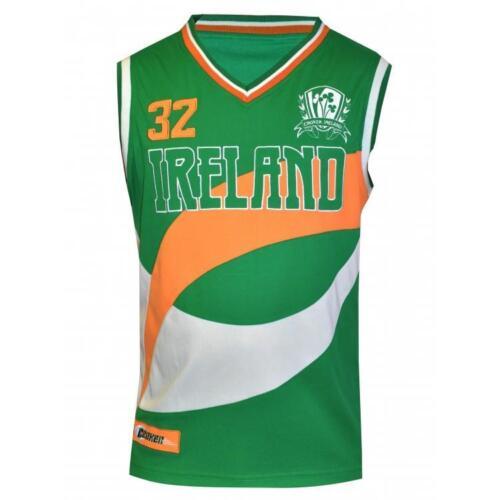 Croker Performance Basketball Jersey NEW Mens Irish Ireland Embroidered Shirt