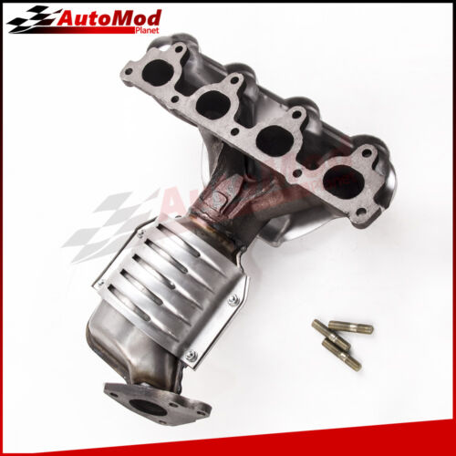 Exhaust Manifold with Catalytic Converter Fit 1996-2000 Honda Civic 1.6L Front