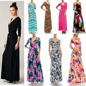Maxi dresses for women over 70