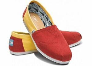 1625628f72b09 Details about Toms Classic USC Campus Canvas Yellow / Red Give Back to The  world! New W Box