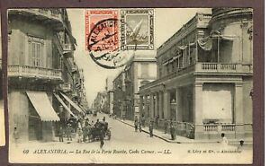 POSTCARDS-EGYPT-TO-CANADA-POSTAGE-DUE-BER3
