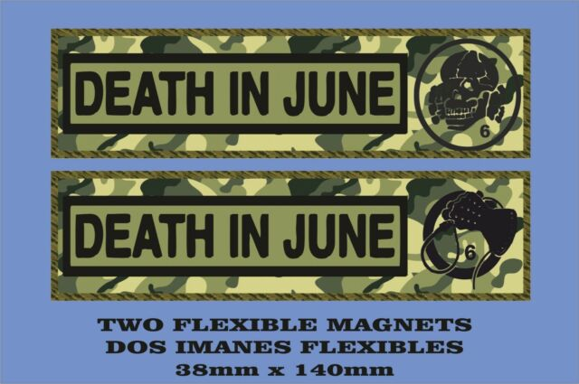 Death in June Rose Clouds of Holocaust 2 IMANES 2 MAGNETS