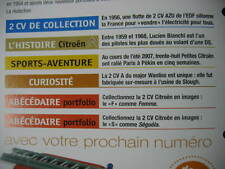 FASCICULE 110  CITROEN 2CV AZU EDF 1956