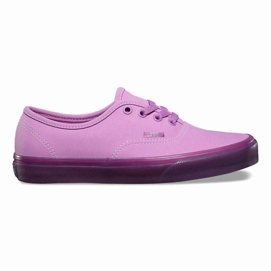 Vans AUTÉNTICAS (tranluxent Gum) púrpuraa para Mujer 6.5