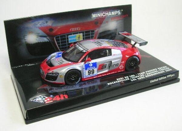 Audi R8 Nr. 99 24 H ADAC Nürburgring 2009