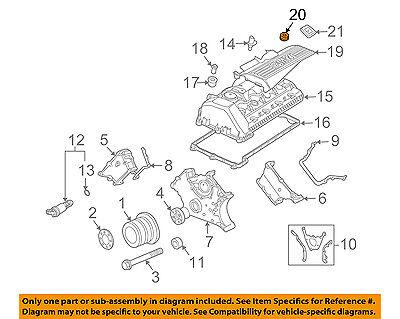 bmw oem 03 08 760li 6 0l v12 engine top cover insulator 11127501588 ebay  bmw v12 engine diagram #12