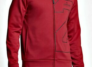 ac7a5a56e82cf0 AUTHENTIC AIR JORDAN TWO-THREE THERMA LITE FULL ZIP GYM RED HOODIE ...