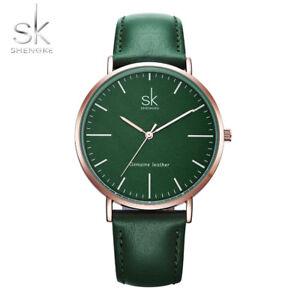 2019-SK-Round-40mm-Quartz-Luxury-Fashion-Genuine-Leather-Strap-Ladies-Watch