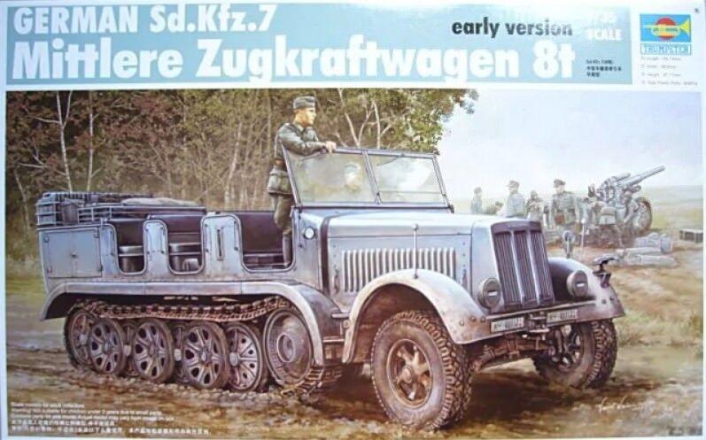 Trumpeter 1 35 German Sd.Kfz.7 Mittlerer Zugkraftwagen 8t 8t 8t 94f276