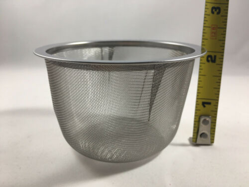 1 5 10 20 40 Teapot Stainless Steel Mesh Strainer Infuser 78-84mm Made in Japan