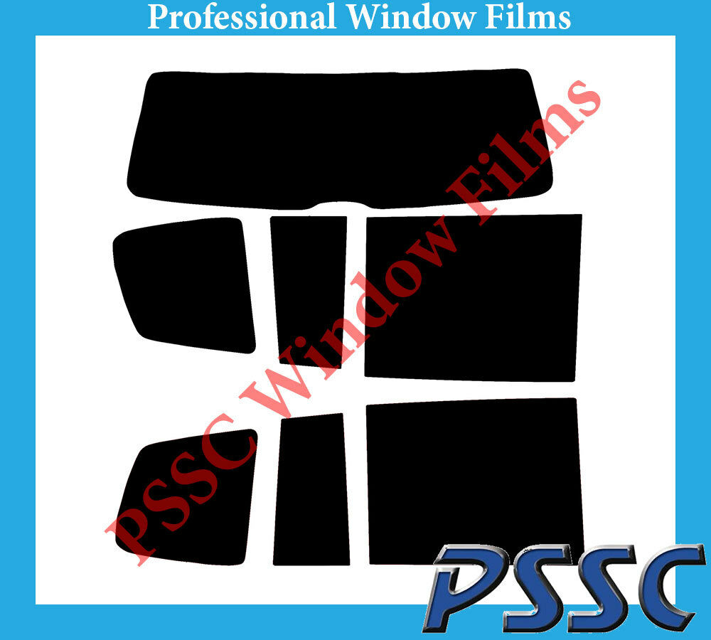 PSSC Pre Cut Rear Car Window Films - VW Touran 2010 to 2015
