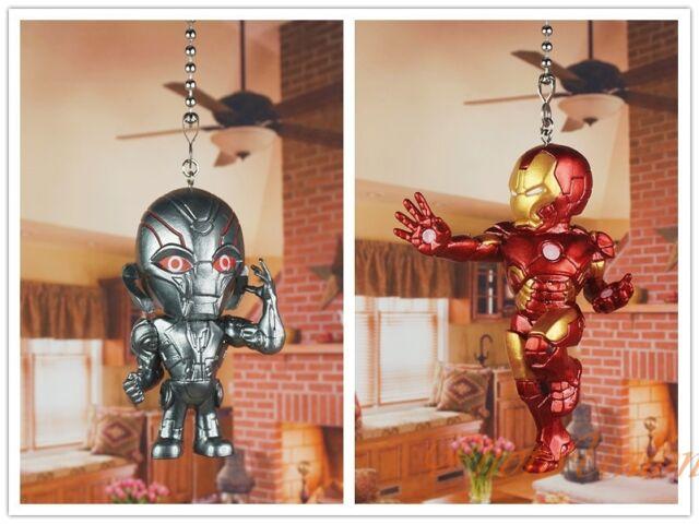 Marvel IRONMAN Light Pull Ironman  Handmade Ceiling Fan Pull