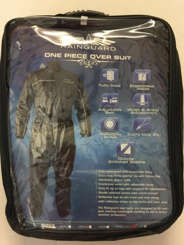 RAINGUARD Einteiliger Wasserdichter Anzug für Motorradfahrer XL
